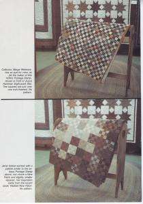Brown quilt magazine picture 2