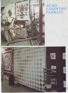 Brown quilt magazine picture