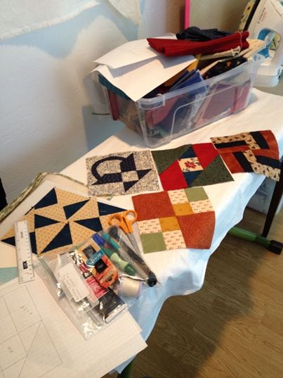 Hand Piecing A Farmer's Wife Sampler quilt